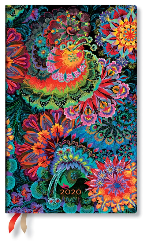 kalendarz 2020 książkowy Maxi Vertical Moonlight 12m