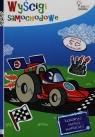 Wyścigi samochodowe Koloruj maluj naklejaj