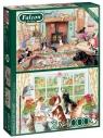 Puzzle 2x1000 Falcon Zwierzęta domowe G3