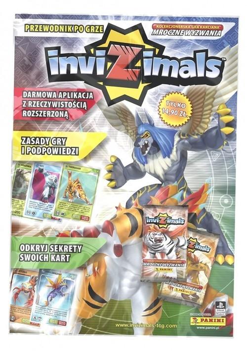 Invizimals magazyn + karty  (20418)