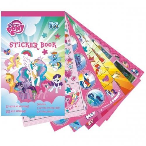 Książeczka z naklejkami My Little Pony