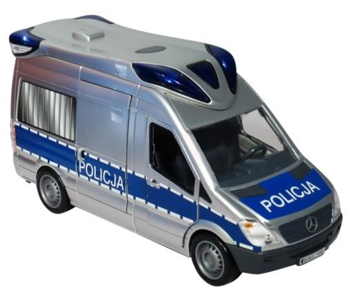 Samochód policyjny (Uszkodzone opakowanie)