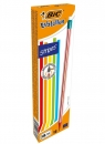 Ołówek Evolution z gumką Stripes HB (12 szt.)