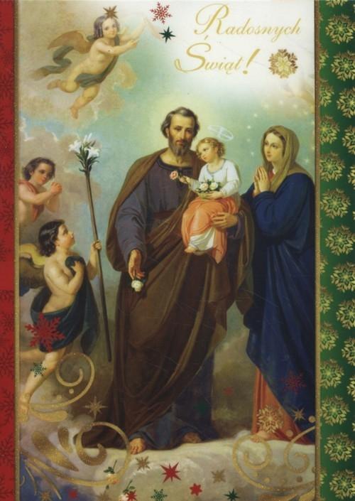 Karnet Boże Narodzenie B6-BNB druk 170016