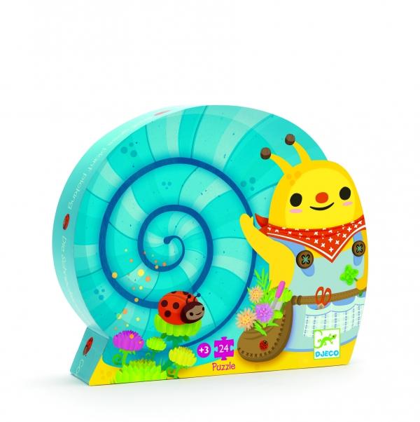 Puzzle postaciowe Ślimak (DJ07219)