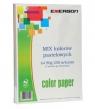Papier kolorowy Emerson mix 50x5 A4 (mix) 80g pastel 1 ryza