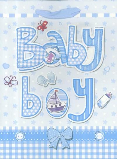 Torebka prezentowa M Baby Boy 1326-03