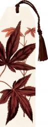 Zakładka 19 ze wstążką Liść klonu palmowego