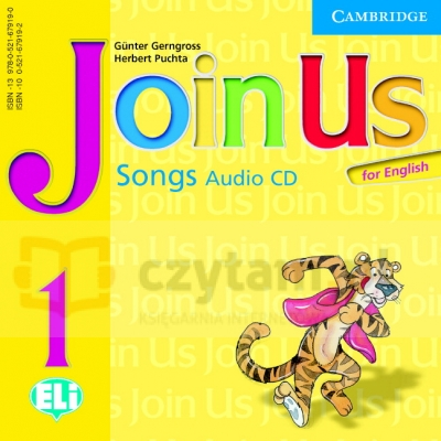 Join Us for English 1 Songs Audio CD (1)