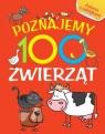 Poznajemy 100 zwierząt. Książka z naklejkami Joanna Babula (ilustr.)
