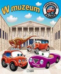 Samochodzik Franek W muzeum Wójcik Elżbieta
