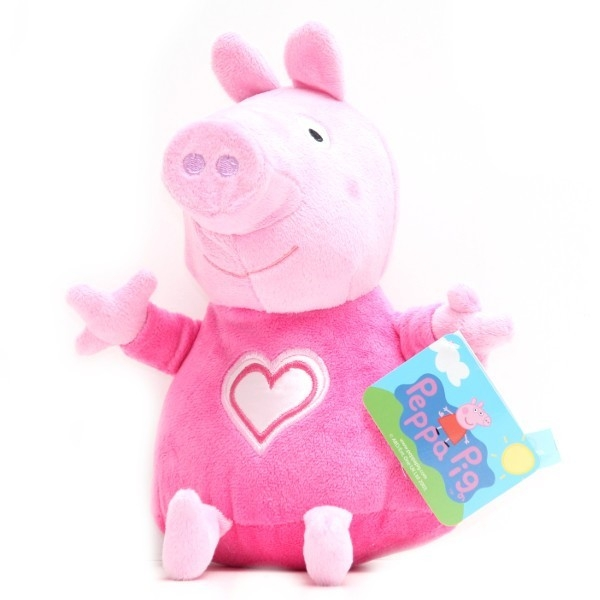 GALERIA ZAB. Świnka Pepp a plusz 20 cmw różowej