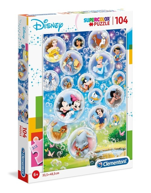Puzzle Supercolor 104 Disney