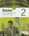 Socios 2 Cuaderno de ejercicios z płytą CD  Corpas Jaime, Martinez Lola, Sabater Maria Lluisa