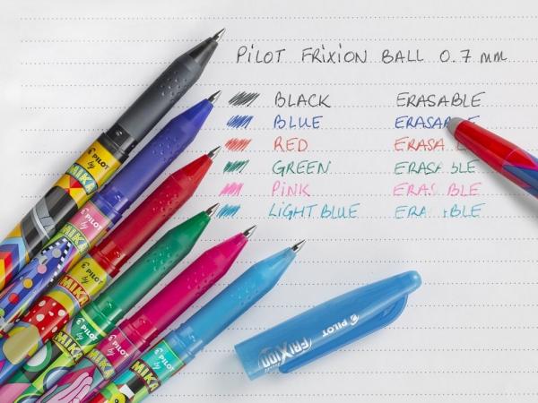 Pióro kulkowe Frixion Ball Mika Edycja limitowana czarne (BL-FR7-B-MK)