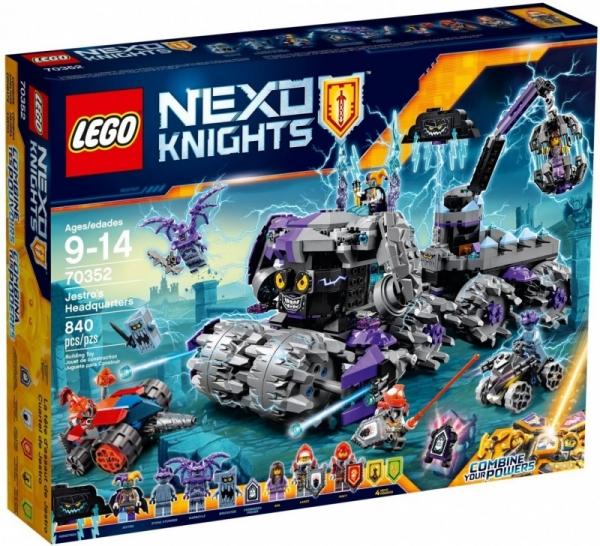 Nexo Knights Ekstremalny niszczyciel Jestro (70352)