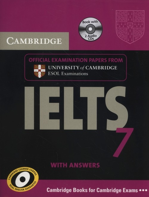 Cambridge IELTS 7 Official examination papers with answers + 2CD