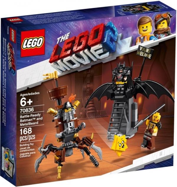 Lego Movie: Batman i Stalowobrody (70836)