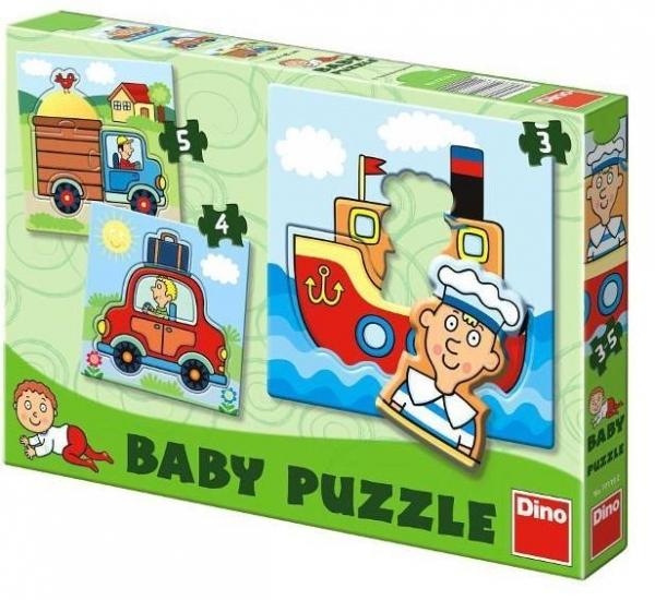 Puzzle Dino Baby transport (771192)