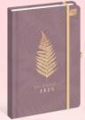Kalendarz 2020 książkowy A5/96K Liść