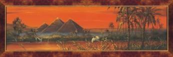 Puzzle 1000 Panoramic Piramidy DINO