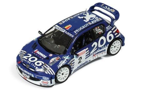 IXO Peugeot 206 WRC #2 F. Loix