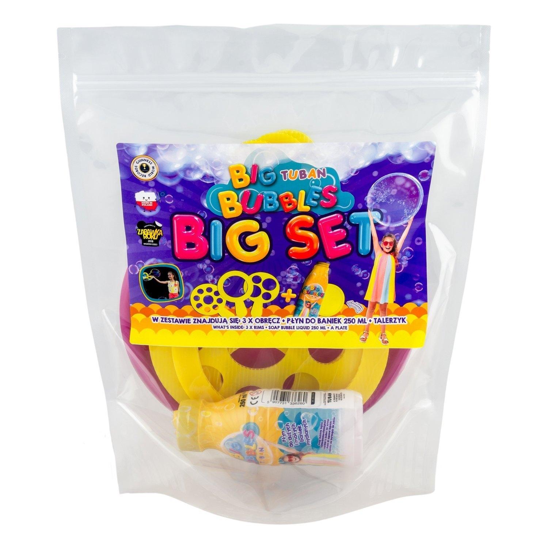 Zestaw Big Tuban - 250 ml + talerzyk + 3 różne obręcze (3619)
