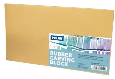 Blok do linorytu gumowy duży 28x15,5cm MILAN