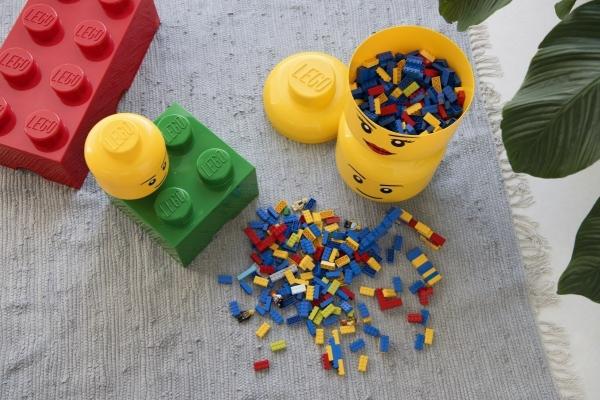 Lego, pojemnik mała głowa - Chłopiec (40311724)