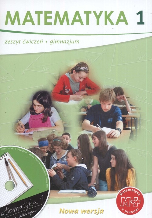 Matematyka z plusem 1 Zeszyt ćwiczeń + CD Dobrowolska Małgorzata, Jucewicz Marta, Karpiński Marcin