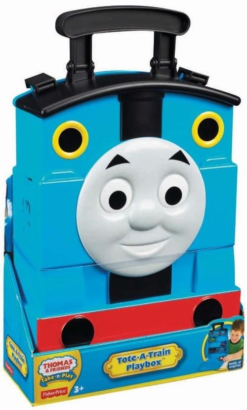 Tomek i przyjaciele Walizka na metalowe lokomotywy