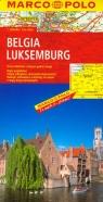 Belgia Luksemburg Mapa drogowa
