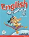 English Adventure 1 Książka ucznia z płytą DVD