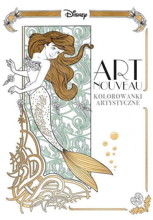 Art nouveau Kolorowanki artystyczne