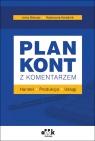 Plan kont z komentarzem handel produkcja usługi