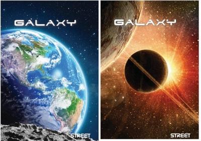 Zeszyt A4 Galaxy w linie 60 kartek 6 sztuk