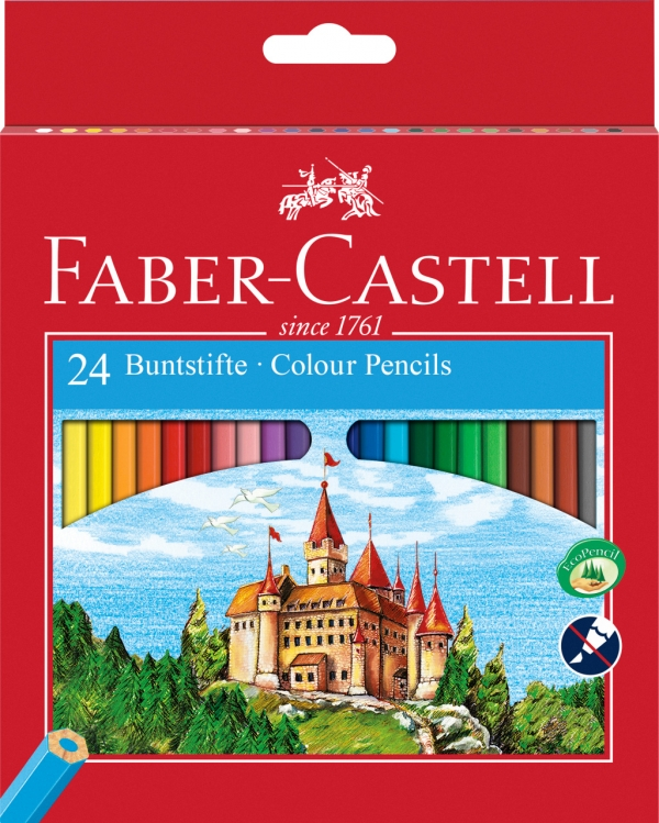 Kredki Zamek Faber-Castell, 24 kolory (120124 FC)
