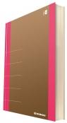 Notatnik Donau Life Organizer 80 kartek Neon różowy (1370001FSC-30)