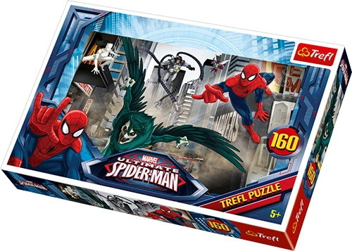 Puzzle 160: Spiderman. W pogoni za złoczyńcą (15319)