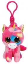 Maskotka brelok Beanie Boos: Fantasia -  kolorowy jednorożec (36619)