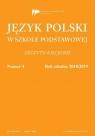 Język polski w szkole podstawowej nr 4 2018/2019