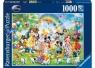 Puzzle 1000 elementów Urodziny Mickey (190195)