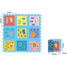Puzzle piankowe - ocean, 9 elementów