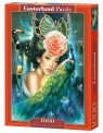 Puzzle Lady with a Peacock 1000 (103195)