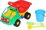 Zestaw 57 Mrówka samochód wywrotka wiaderko kwiatek małe łopatka grabki (3195)