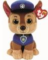 Maskotka Beanie Babies Psi Patrol - Chase 24 cm (TY 96319)