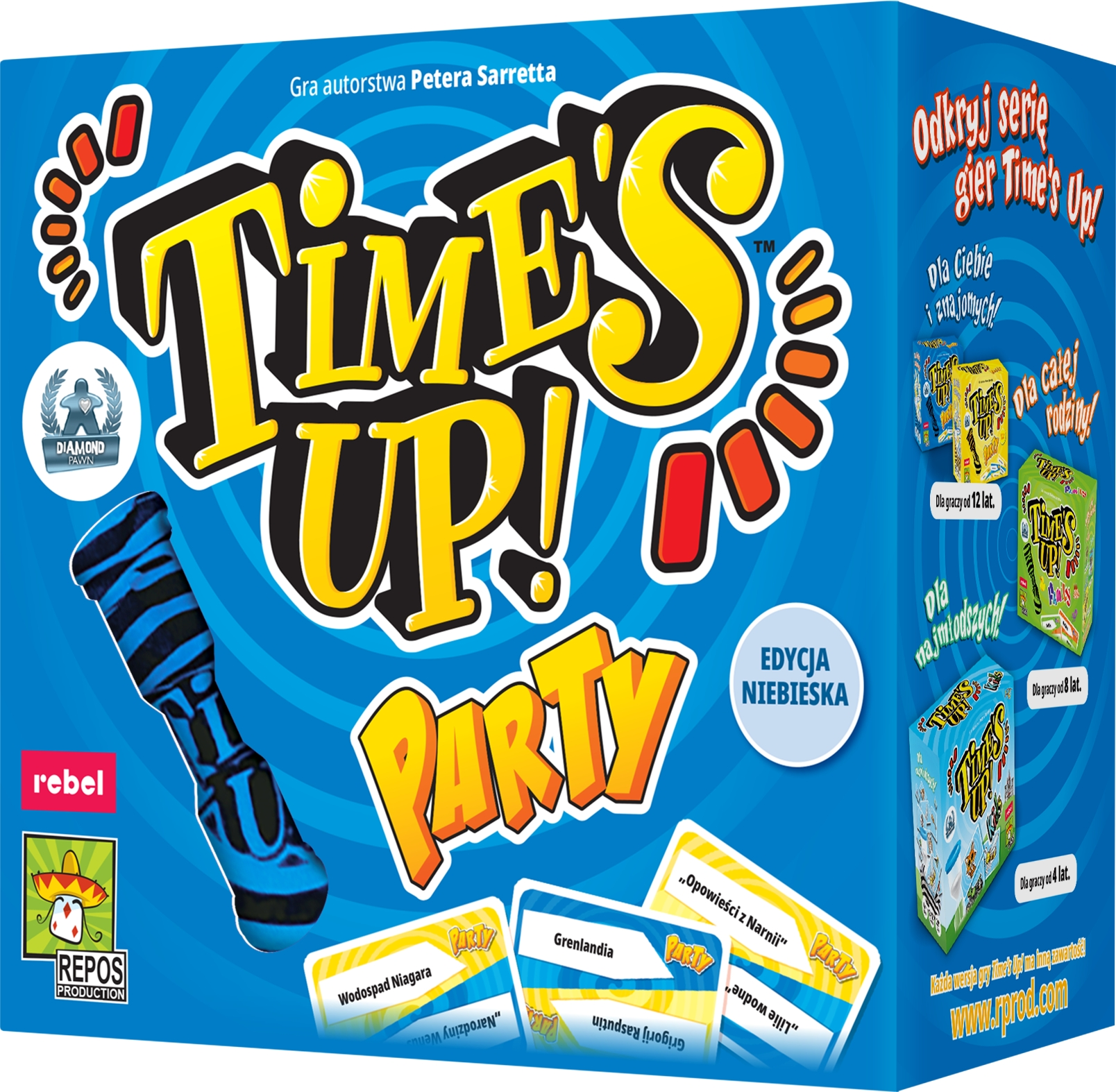 Time's Up! Party (edycja niebieska)