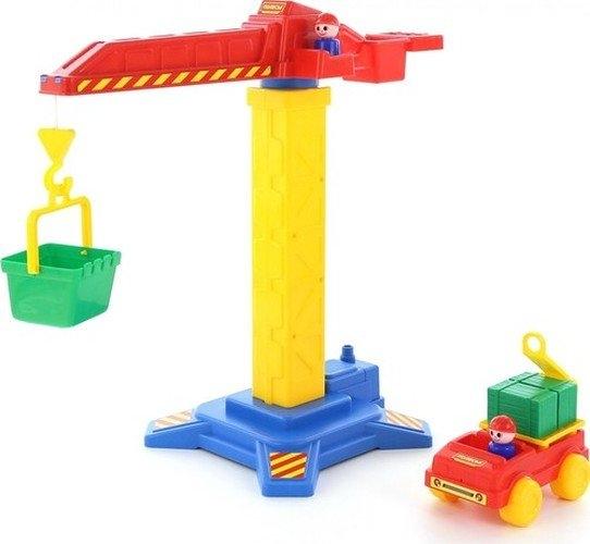 Żuraw Budowniczy + samochód (58195)