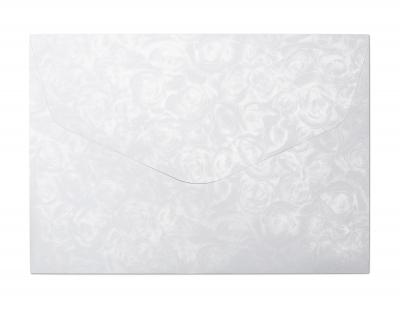 Koperta Galeria Papieru róże biały k C5 - biały 162 mm x 229 mm (280611)