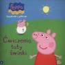 Świnka Peppa Książeczki z półeczki Ćwiczenia taty świnki